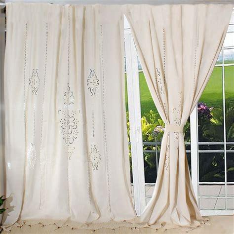 modern curtains   living room tab top cotton linen