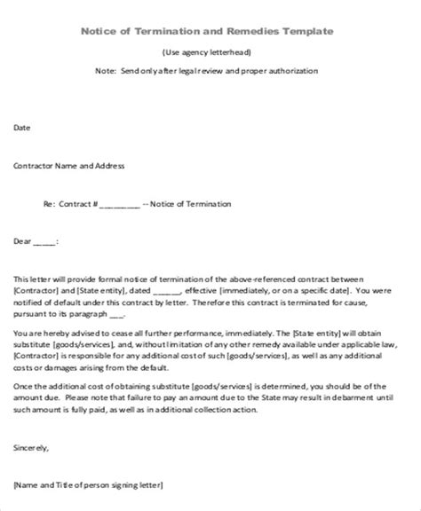 Contract Agreement Letter Template Sle Contract Agreement Letter 9 Exles In Word Pdf