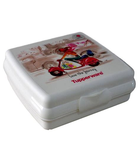 Tupperware Miss tupperware miss t sandwich keeper 320ml buy at best price in india snapdeal