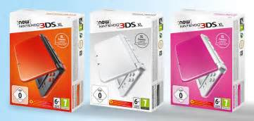 nintendo color new nintendo 3ds xl gets three new colors in europe
