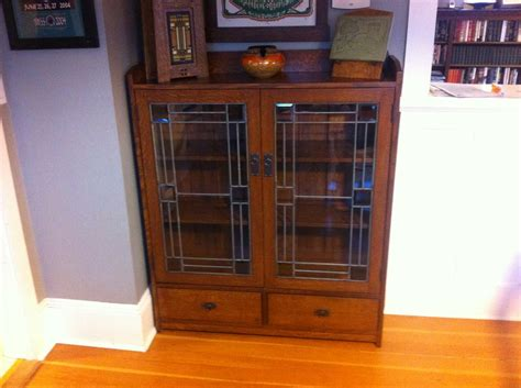 craftsman bookcase craftsman mission bookcase by rodneyh lumberjocks