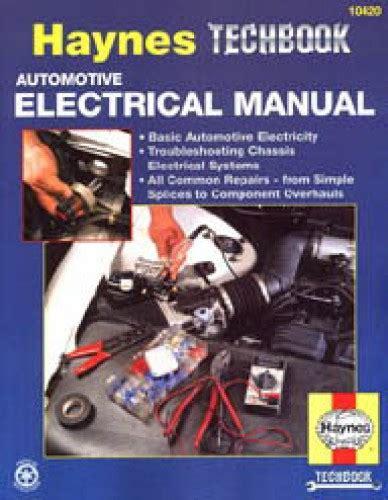 haynes automotive electrical manual