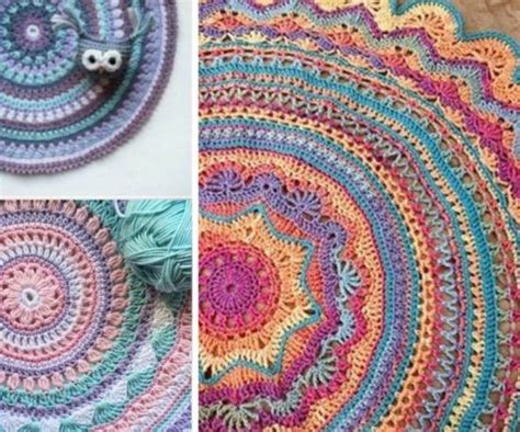 crochet rugs diy diy crochet mandala rug artistic patterns mandala rug crochet mandala and diy crochet