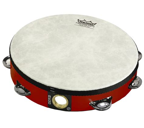 Tambourine Remo remo fiberskyn 3 8 quot single row tambourine finish and more tambourines at cascio