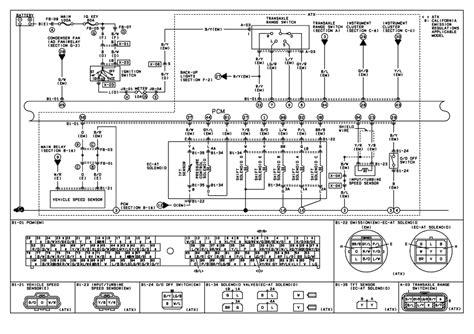 2000 mazda protege engine diagram wiring schematic