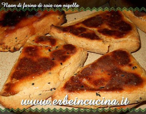 cucinare con la soia erbe in cucina ricetta naan di farina di soia con nigella
