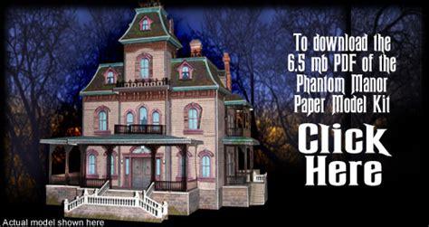 Build My Own House Online phantom manor paper model kit