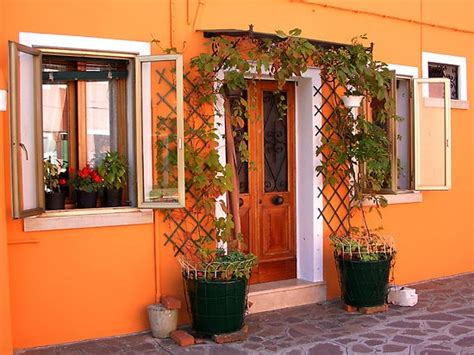 orange exterior house colors orange houses exterior house colors