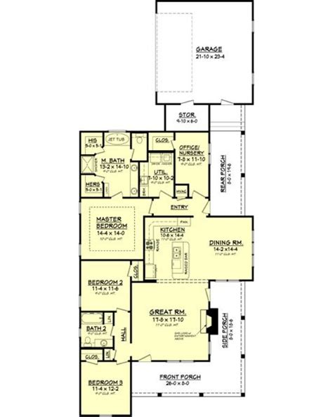 Split Bedroom House Plans amazingplans com house plan bb 1900 2 country