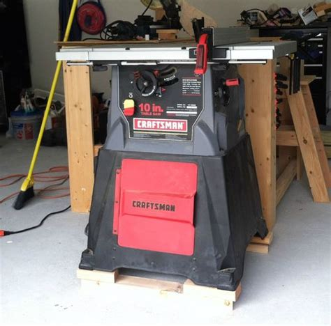 craftsman 137 table saw gifted again table saw and drill press by chris