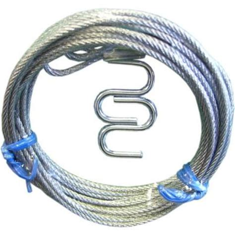 Garage Door Cable Home Depot by Ideal Security Garage Door Safety Cables 2 Pack Sk7136