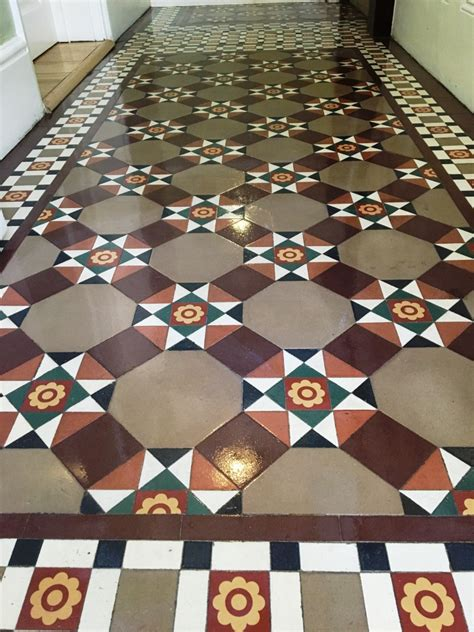 victorian pattern tiles cleaning and maintenance advice for victorian tiled floors