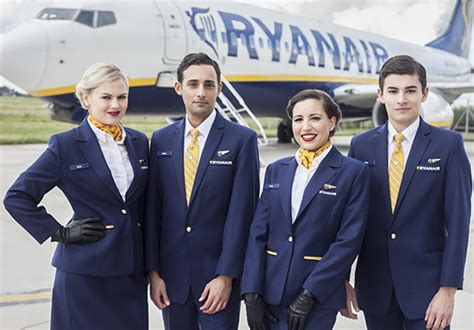 airline cabin crew ryanair is airline to carry 100m pax a year travel