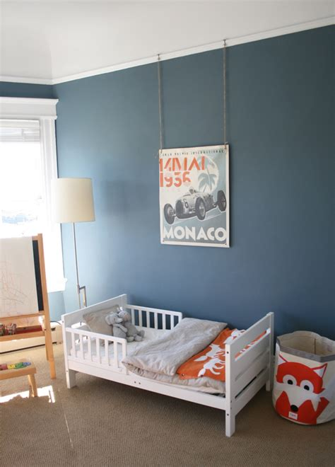 toddler boy bedroom paint colors hugo s quot playfully grown up quot big boy room project nursery