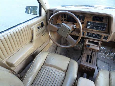 Cadillac Cimarron Interior by 1986 Cadillac Cimarron D Oro Gold Package Sedan In El Cajon Ca 1 Owner Car