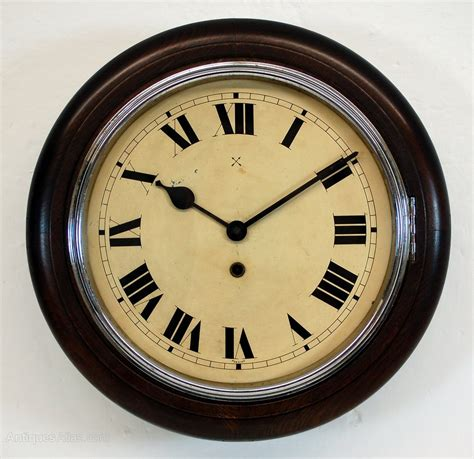 kitchen clocks antiques atlas antique kitchen clock with chrome bezel