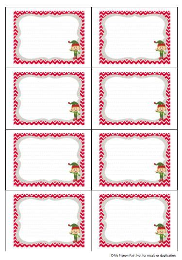 elf on the shelf blank printable letter blank elf on the shelf stationary search results