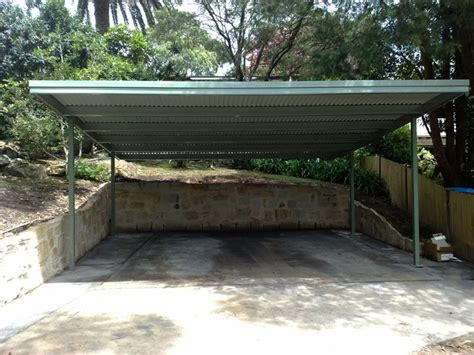 Shed Roof Carport Plans by Shed Roof Garage Plan Nosote