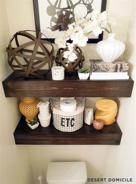 Cheap Bathroom Shelves Best 25 Floating Shelf Decor Ideas On Living