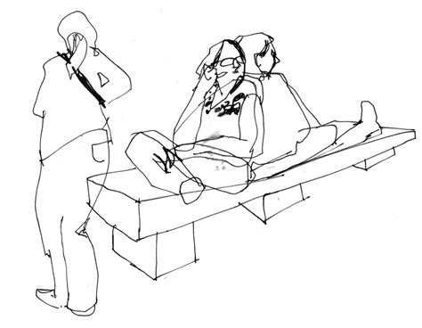 how to draw people sitting on a bench gb greg betza people sitting
