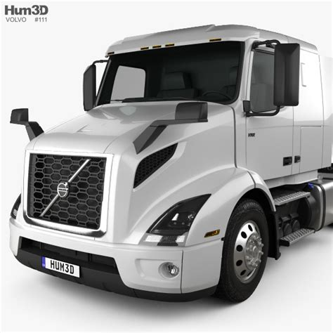 volvo truck model volvo vnr 400 tractor truck 2018 3d model hum3d