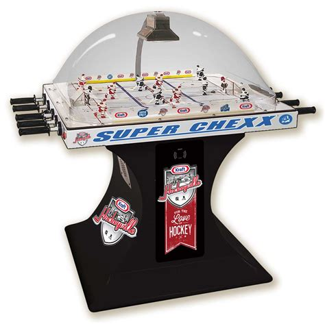 bubble hockey table for super chexx bubble dome hockey tables