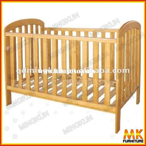 solid wood baby cradle plans