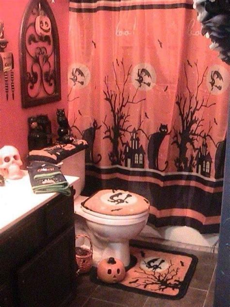halloween bathroom set bathroom set up for halloween halloween bathroom