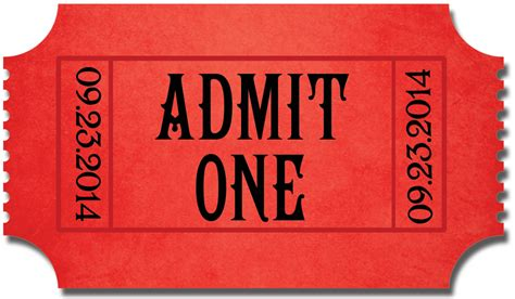 admit one ticket template admit one for