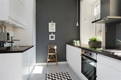 kitchen feature wall ideas grey feature wall in a white kitchen home ideas grey pictures and white kitchens