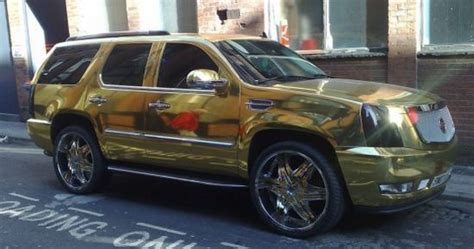 gold cadillac el hadji diouf s gold cadillac escalade