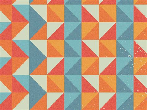 pattern shapes pictures dribbble geometric shapes pattern by derek brown