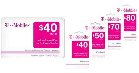 Prepaid E Gift Card - target com nice discounts on t mobile prepaid ecards hip2save
