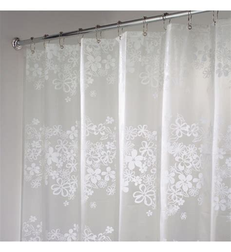 clear vinyl shower curtains designs vinyl shower curtain clear flower free shipping
