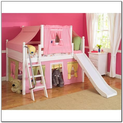girl bunk beds with slide bunk beds for girls with slide beds home design ideas