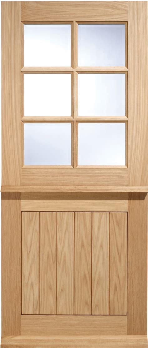78x30 Exterior Door Cottage Stable 6 Light Door Oak Exterior Doors Oak Front
