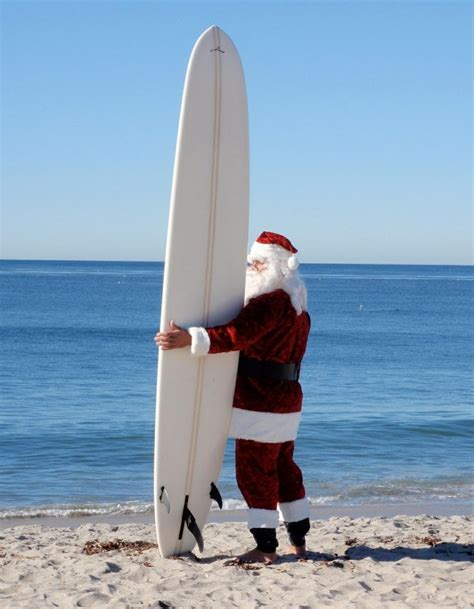 santa on surfboard 104 best santa claus on vacation images on merry santa clause and