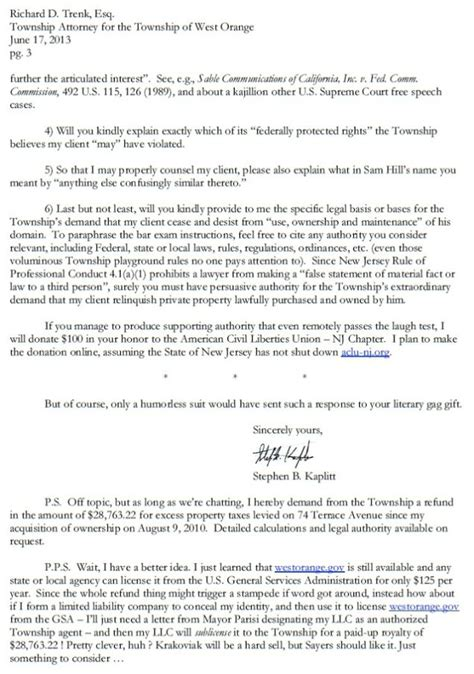 Response Letter To Hoa This Is How You Respond To An Unjust Cease And Desist Letter
