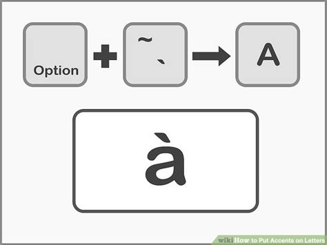 The Letter A With An Accent