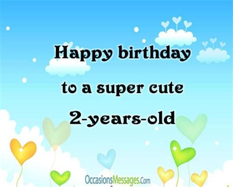 Happy Birthday Wishes For Two Year 2nd Birthday Wishes Birthday Messages For Baby Turns Two