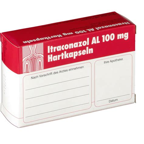 Itraconazol 100mg itraconazol al 100 mg hartkapseln shop apotheke