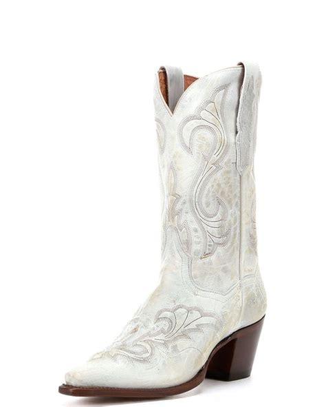 dan post s el paso boots white cowboy boots for
