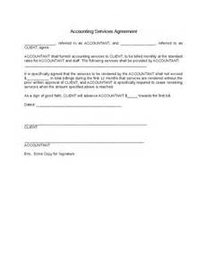 Bookkeeping Agreement Template accounting services agreement hashdoc