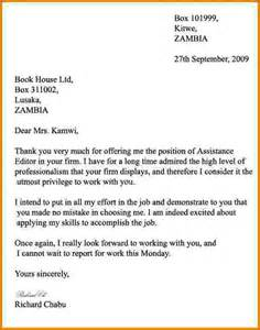 Business Letters For Students 8 Formal Letter Exles For Students Financial
