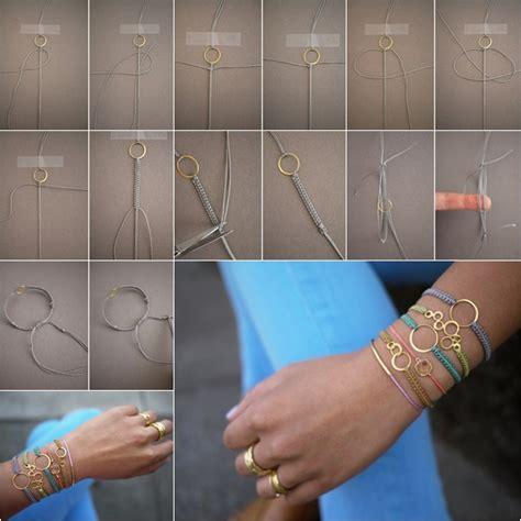 How to DIY Stylish Macrame Bracelet   Fab Art DIY