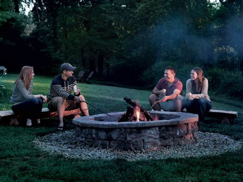 How To Build A Fire Pit Outdoor Fire Pit Ideas Designs Can I Build A Pit In My Backyard