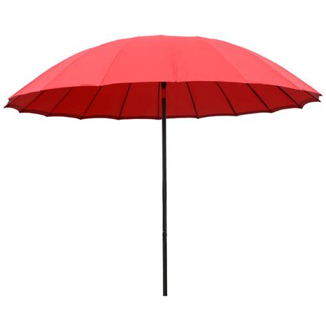 Patio Umbrella Canopy Azuma 2 5m Tilting Parasol Sun Shade Canopy Umbrella Garden Outdoor Patio