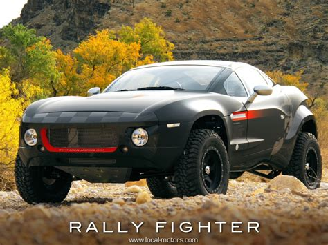 rallys motors the next rally fighter local motors announces new design