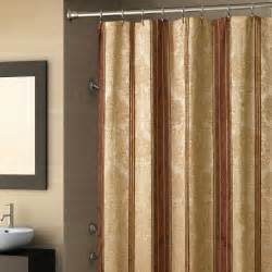 Bath And Beyond Shower Curtains gold shower curtain ideas the homy design
