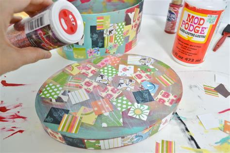 Can You Use Wrapping Paper For Decoupage - cool and easy diy mod podge crafts hative